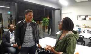 #BBNaija: Throwback Photos Of Jon Ogah And Asa In France